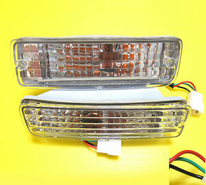 FOR 89-95 90 Toyota Pickup 4Runner Signal Bumper Indicator Turn Signal Lights