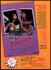 ENRAPTURE__Original 1990 Trade AD movie promo__ONA ZEE_JAMIE GILLIS_TRACEY ADAMS