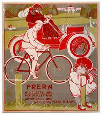 Umberto Boccioni -FRERA-bici-automobile-futurismo-bambina-R.Calabria 1908
