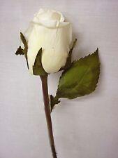 (01556-33999) ARTIFICIAL FLOR INDIVIDUAL ROSA CAPULLO ROSA BLANCO