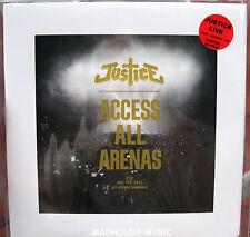 La justice LP x 2 + CD accéder à toutes les arènes Live 2012 + POSTER SCELLÉ NOUVEAU double vinyle