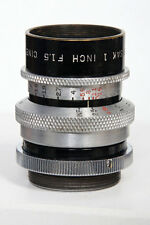 25mm f1.5 Wollensak Cine-Velostigmat 1 inch  C-Mount Lens