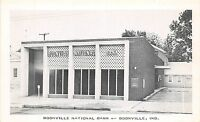 B4/ Boonville Indiana In Postcard c1940s Boonville National Bank