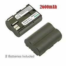 2x Kastar Battery for Canon BP-511 BP-511A BP-512 BP-514 FV10 FV100 FV2 FV20