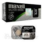 2 X Maxell 373 Silberoxid Batterien 1.55V SR916W SR68 V373 Uhren 0% Mercury