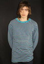 Vintage Express Striped Long Sleeve Shirt Size L - skate surf op 90s 80s