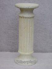 Antik Säule Blumensäule Tisch Design Barock Säulen Stuckgips  Auf Alt 1635 Crem