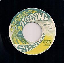 """70's FUNK 7"""" 45 STRINGFELLOW - GROOVING IS EASY / POOR FOOL - TREESONG REISSUE"""