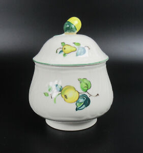 Villeroy & Boch Porzellan Zuckerdose Serie Jamaica V&B Porcelain Sugar Pot