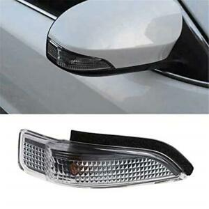 2Pcs Car Door Side Mirror Turn Signal Lens Light For TOYOTA Corolla Camry Prius