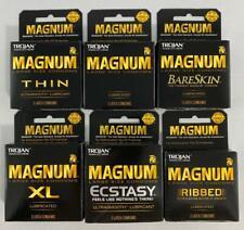 Trojan Magnum Condoms Variety Pack Sampler, 18 Condoms