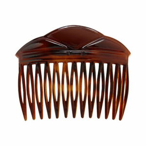 Caravan Entra Tortoise Shell Side Hair Combs Model No. 315 Brand New
