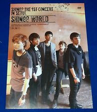 Shinee - Shinee World 1st Concert in Seoul Official Poster Hard Tube Case NEW