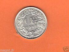 Suisse -  1 Franc argent 1963 (Réf. 106)