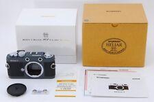 """""""Unused"""" Voigtlander Bessa T 101 Years Model Camera Gray From Japan B121"""