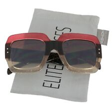 NEW Oversized Square Luxury Sunglasses Gradient Lens Vintage Women Fashion 2018