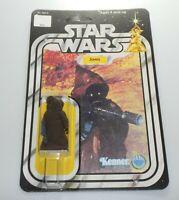 *RECARDED* 1977 Star Wars Jawa Large Eyes Figure Sealed *CUSTOM Card Back*