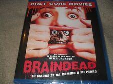 Braindead aka Dead Alive (1992) Peter Jackson Gore Rare Region Free NEW Blu-ray