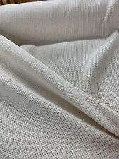 "60""  Natural Monks Cloth  Cotton Sold By The Yard  /utility Fabric 4 By 4 Weave"
