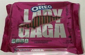 OREO LADY GAGA Little Monsters Cookies Chromatica 3 designs Pink & Green 2021 LE