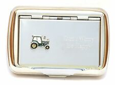 Tractor Green Tobacco Hand Rolling Up Cigarette Tin Farming Gift Present