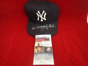 Whitey Ford Signed Autograph NY Yankees Authentic New Era 5950 Hat - JSA NN91105