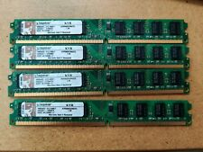 4GB Kingston 2X2GB DDR2- 800 Tested and paired for dual channel