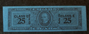 R1/4 US Revenue Stamp Cigar 1953 Series 123 Class E 25 MNHNGAI Incredible Center