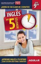 Ingls en 5 minutos Ingles en 100 Dias Spanish Edition