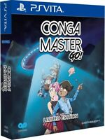 Conga Master GO! for Playstation Vita PSVITA from Play-Asia Limited Edition