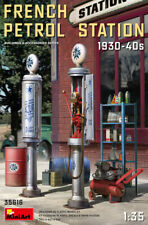 Miniart 35616 - 1:35 French Petrol Station 1930-40S - Neu