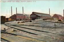Early Pardee Steel Works At Perth Amboy NJ New Jersey RR Tracks !!!