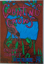 COUNTING CROWS FILLMORE POSTER, Engine 10 Basst ORIGINAL, F142 John Howard