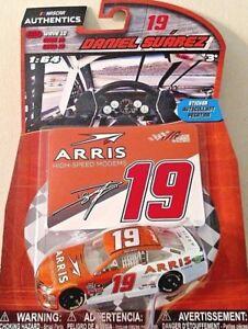 DANIEL SUAREZ 2017 1/64 #19 NASCAR AUTHENTICS ARRIS MODEMS WAVE 10 TOYOTA CAMRY