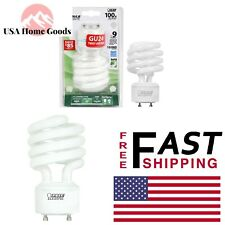 Soft White (2700K) Spiral GU24 CFL Light Bulb 100W Equivalent Replacement