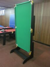 6 FOOT FOLDABLE POOL TABLE  [GREEN]