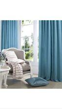 Catherine Lansfield Faux Silk 66x90 Pencil Pleat Curtains Jade