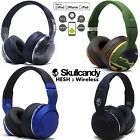 New Skullcandy Hesh 2 Bluetooth 4.0 Wireless Headphones Headset Blue Camo Silver