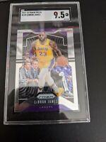 2019-20 Prizm Lebron James #129 Los Angeles Lakers Gem Mint SGC 9.5 PSA 10? BGS?