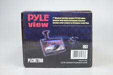PYLE PLCM7700 VEHICLE REAR VIEW BACKUP CAMERA AND MONITOR KIT