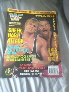 WWF WWE MAGAZINE SEPTEMBER 1994 OWEN HART
