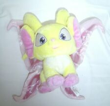 "NEOPETS Plush Yellow Faerie Acara 8"" Stuffed Animal Toy 2004"
