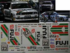 #111 BMW M3 E30 DTM 1990 Manthey Isert Fuji Decal 1/24 für Fujimi no Studio 27