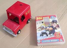 Postman Pat Royal Mail Van Toy and DVD A super mission