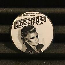 "Plasmatics Concert Poster Flyer Pin Button Badge 2.25"" Punk Rock Pinback 1981"