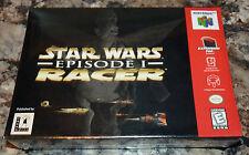 NINTENDO 64 - STAR WARS: EPISODE 1 RACER Game BRAND NEW Factory Sealed V-SEAM