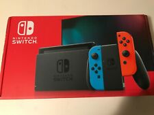 Nintendo Switch Konsole mit Joy-Con - Neon-Rot/Neon-Blau/Grau