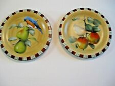 Lenox Winter Greetings Everyday Eastern Bluebird & Tufted Titmouse Salad Plates