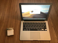 """Apple MacBook Air 2015 A1466 13.3"""" i5 up to 2.7 GHz 8GB Ram 128GB SSD Applecare"""