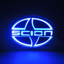 New Sport 5D Car LED Tail Rear Logo Light Badge Lamp Emblem For Scion 12.5X8.5CM
